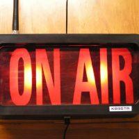 Radio Station 97x on air