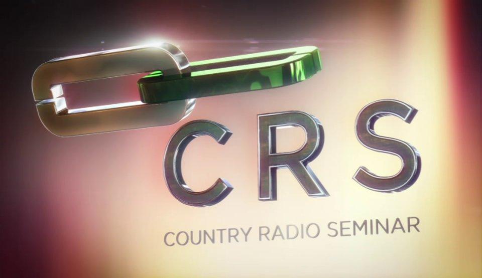 country radio seminar 3d logo in