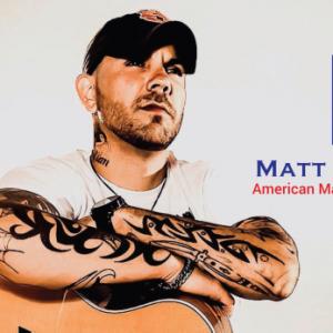 recording artist matt williams with guitar